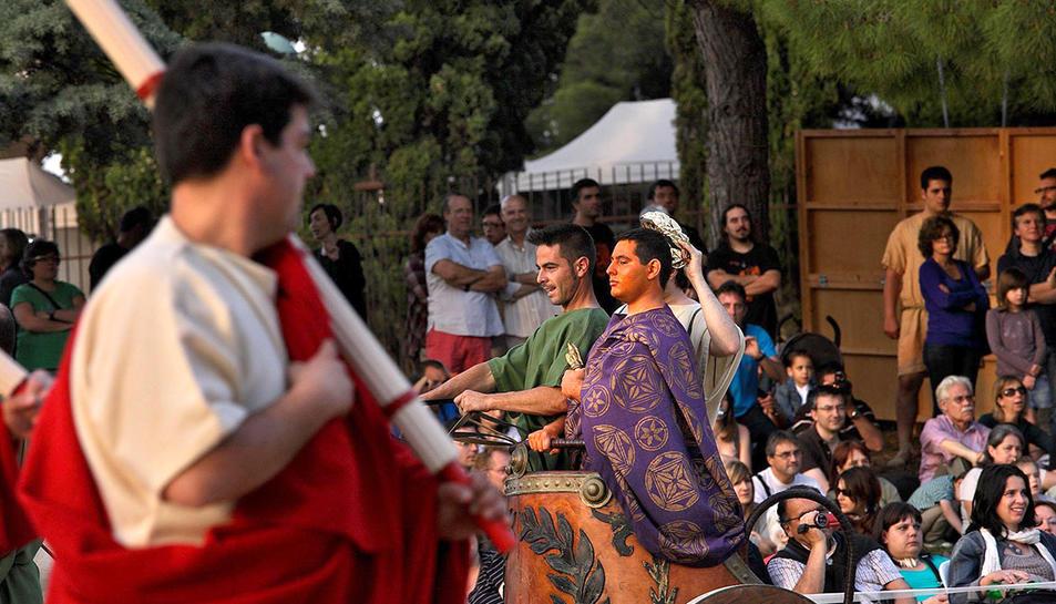 Les recreacions històriques es realitzaran a l'Amfiteatre de Tàrraco.