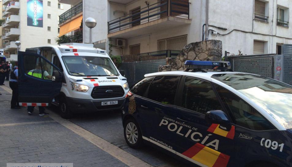 Un operatiu realitzat per tres cossos policials acaba amb un detingut