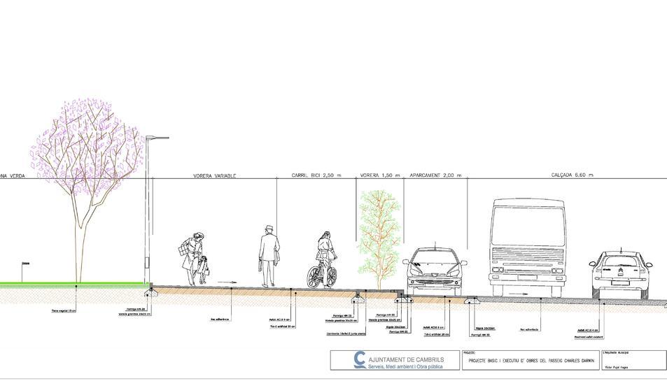Cambrils projecta un passeig que unirà el centre amb l'estació del corredor
