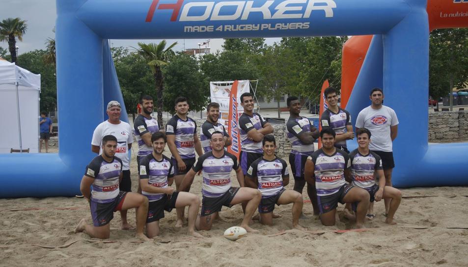 Els Voltors es proclamen campions del I Circuit Català de Rugby Platja
