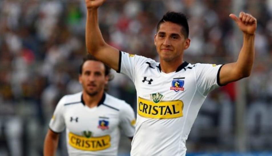 Imatge d'arxiu del jugador xilè Juan Antonio Delgado