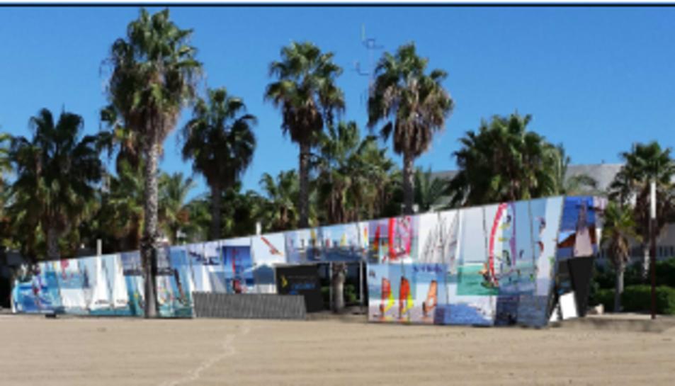 Salou començarà a construir la base naútica dels Jocs 2017 passat l'estiu