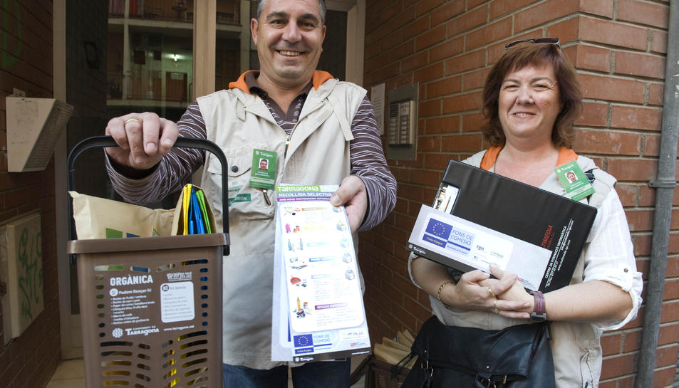 Posaran en marxa una campanya de recollida  d'orgànica als barris