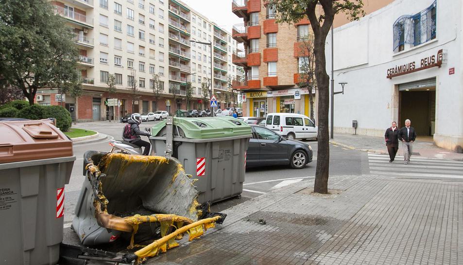 La crema de contenidors deixa 67 casos fins l'agost i en suma 114 des del 2014