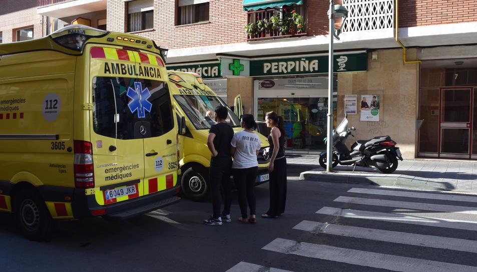 Triple atropellament al carrer Eivissa de Tarragona