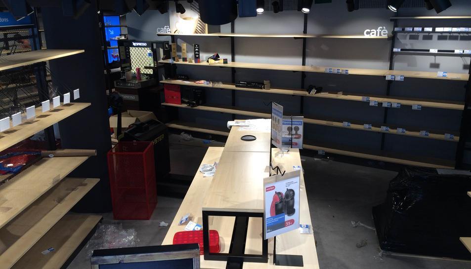Worten tanca la botiga de Prat de la Riba vuit mesos després d'obrir-la