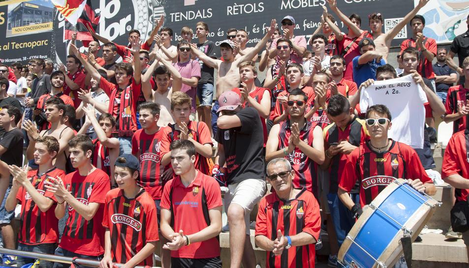 L'afició del Reus veurà debutar el seu equip a Segona A en dissabte.