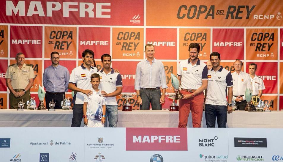 Joan Fargas guanya la Copa del Rei Mapfre amb tan sols nou anys