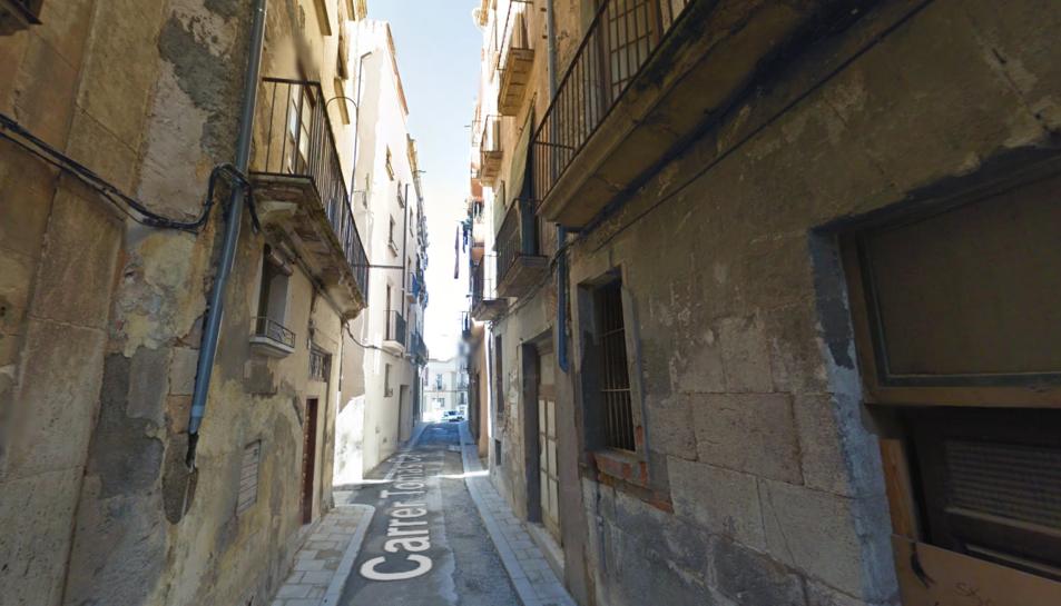 S'ensorra una casa deshabitada a Valls sense causar ferits