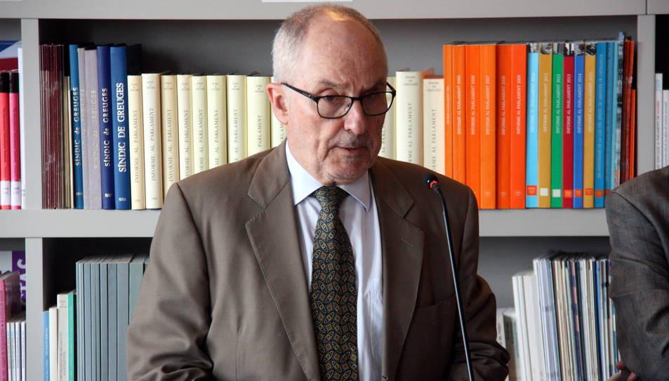 El Síndic de Greuges demana informació sobre els menors afectats per abusos sexuals de Tortosa