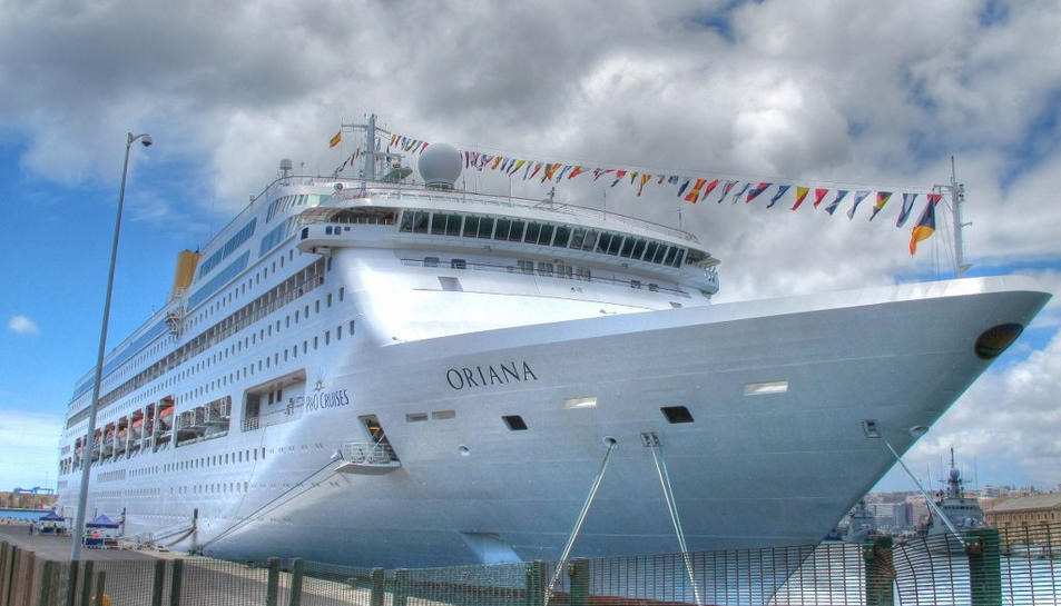 El Port de Tarragona rep el creuer Oriana aquest divendres