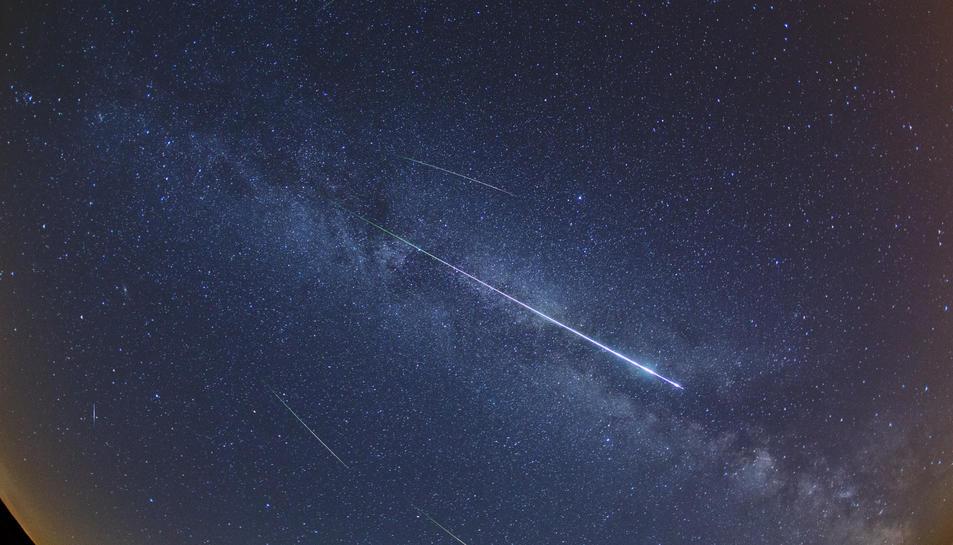 Consells per veure la pluja d'estels de les Perseides