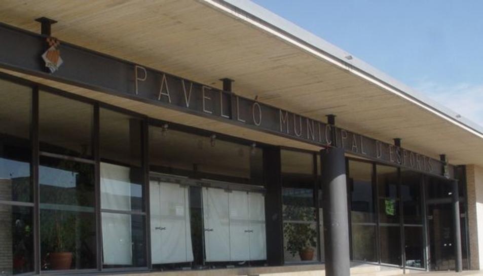 El rentat de cara del Pavelló Salou Centre s'inicia dimarts vinent