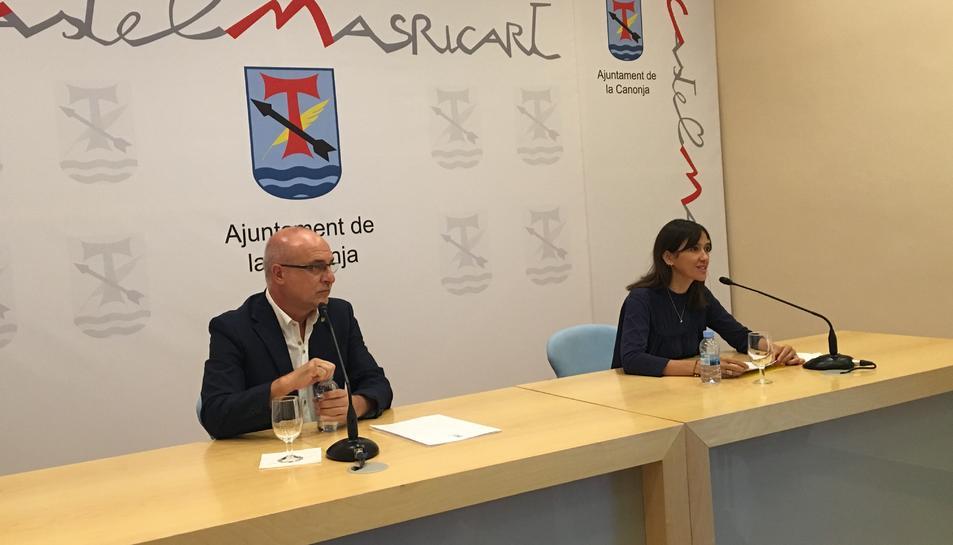 Núria Parlon inaugura la Festa Major de la Canonja parlant de competitivitat energètica