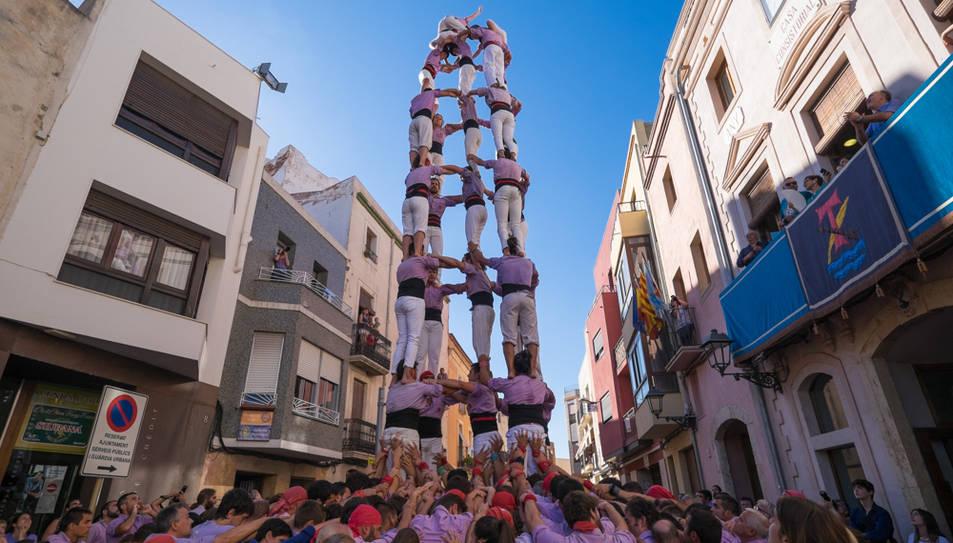 5de8 de la Colla Jove de Tarragona a La Canonja.
