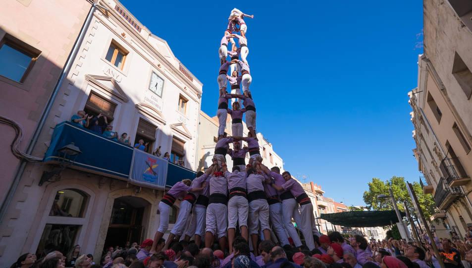 3de9 folrat de la Colla Jove de Tarragona a La Canonja.
