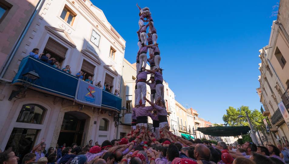 4de8 de la Colla Jove de Tarragona a La Canonja.