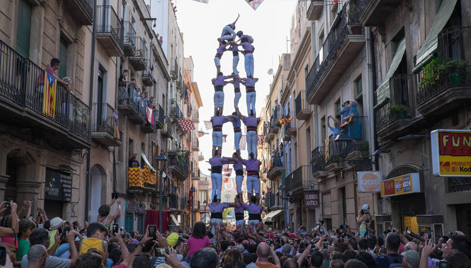 5de8 de la Colla Jove de Tarragona al Cós del Bou.