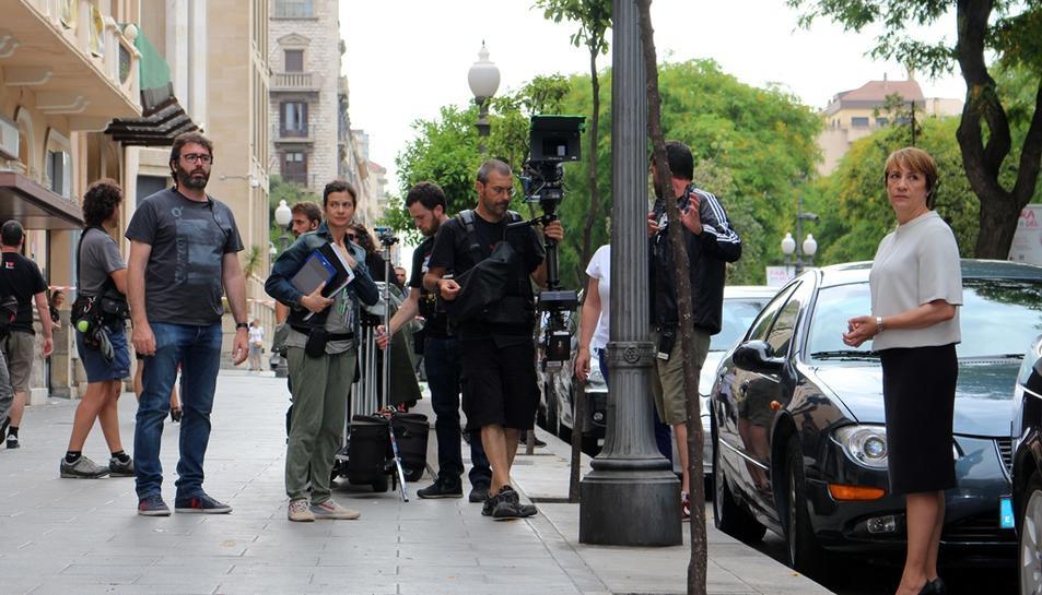 Tarragona acull la preestrena de Secuestro, protagonitzada per Blanca Portillo i rodada parcialment a la ciutat