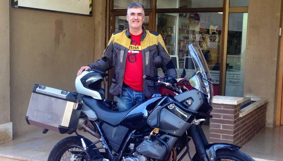 40 dies de ruta en moto per 16 països