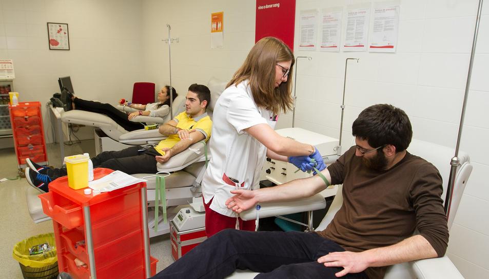El Banc de Sang alerta del descens de donacions aquest 2016 a Tarragona