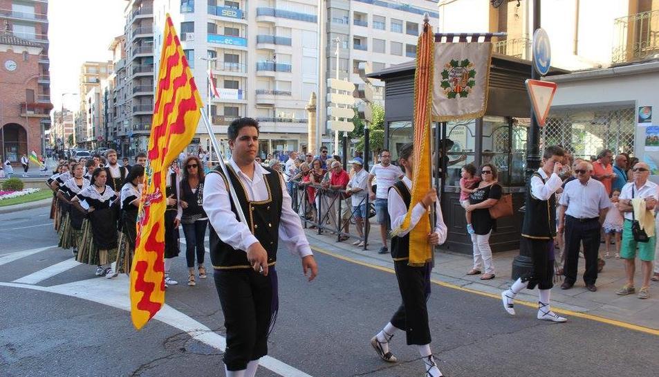 La música i dansa de l'Esbart Dansaire de Tarragona visita Calahorra