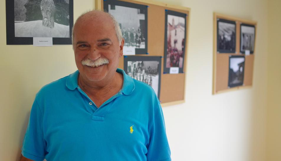 Jaume Casas, responsable de l'exposició 'Imatges pel record'