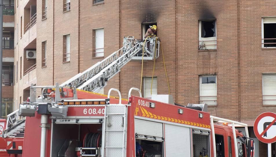 La mort de l'home en l'incendi de Reus es va produir voluntàriament