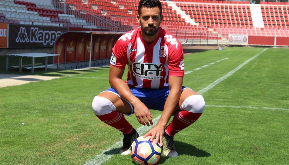 Pablo Marí espera adaptar-se ràpid al sistema del Girona per ser competitiu «com més aviat millor»