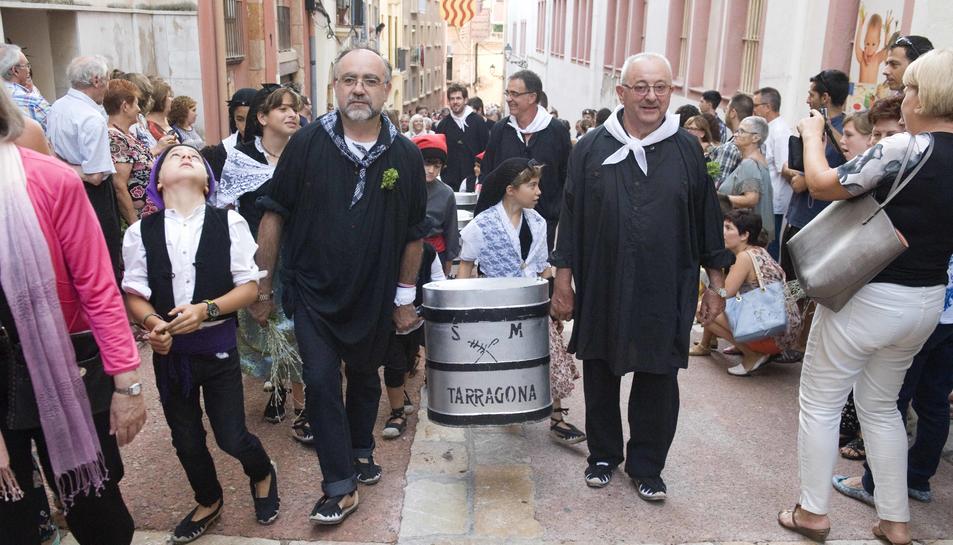 La Pujada al Portal del Carro, castells i música tancaran la festa