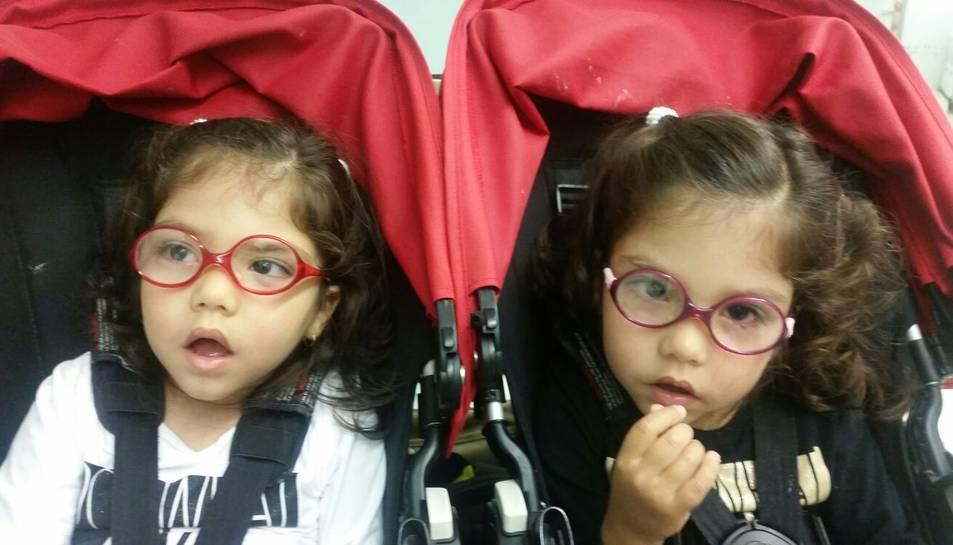 Les bessones Inés i Maria Moreno