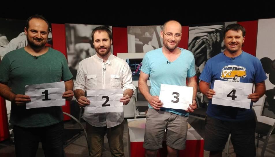 El sorteig de Sant Magí s'ha fet durant l'emissió del programa casteller de TAC12