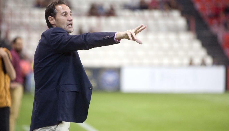 Vicente Moreno espera l'inici de la temporada.