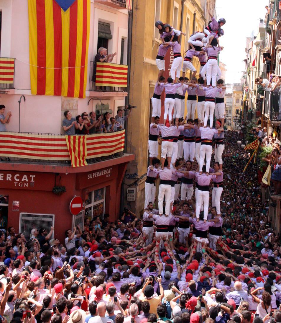 9de8 de la Colla Jove de Tarragona.