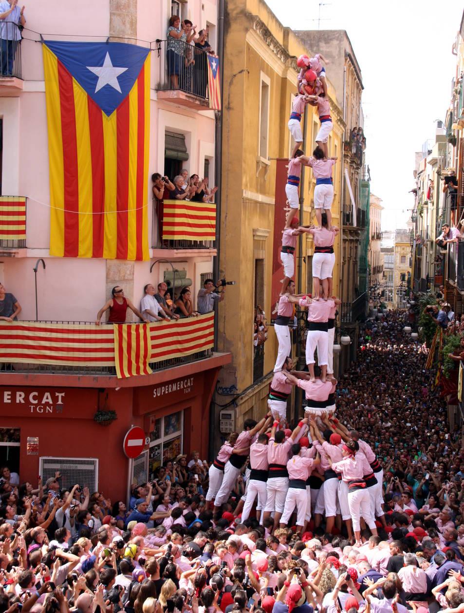 3de9f dels Xiquets de Tarragona.