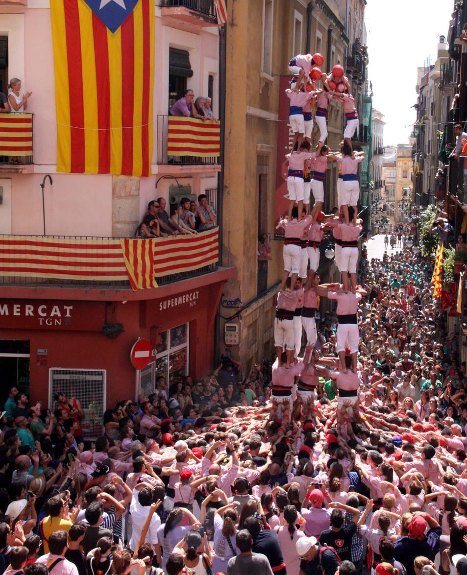 5de8 dels Xiquets de Tarragona.