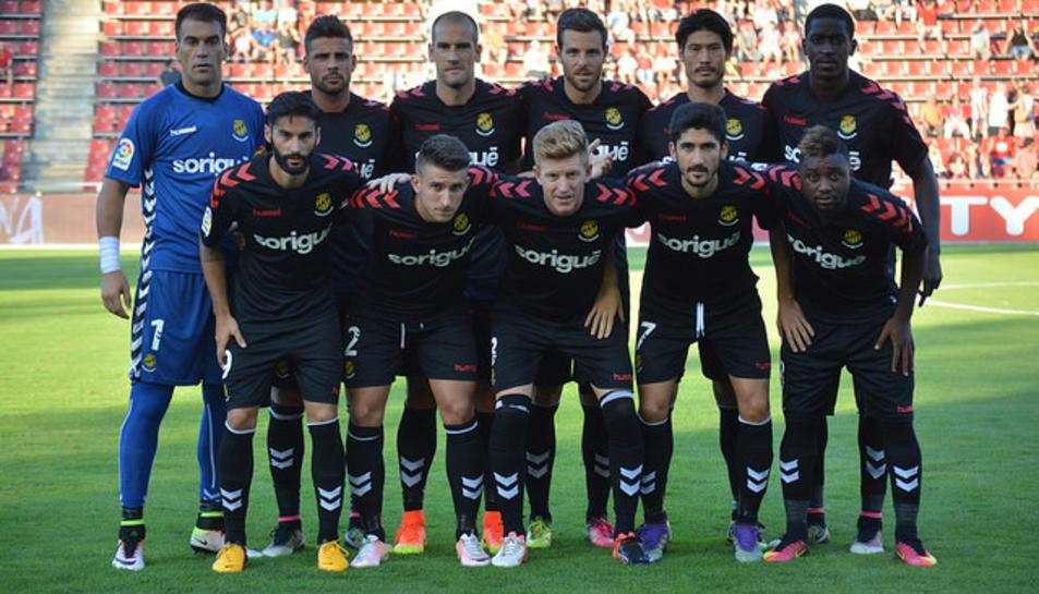 Els jugadors que van sortir de titulars a Girona, en l'amistós de pretemporada