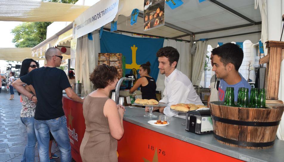 La V edició de Els Sabors de Sant Magí compta amb una major presència de públic estranger