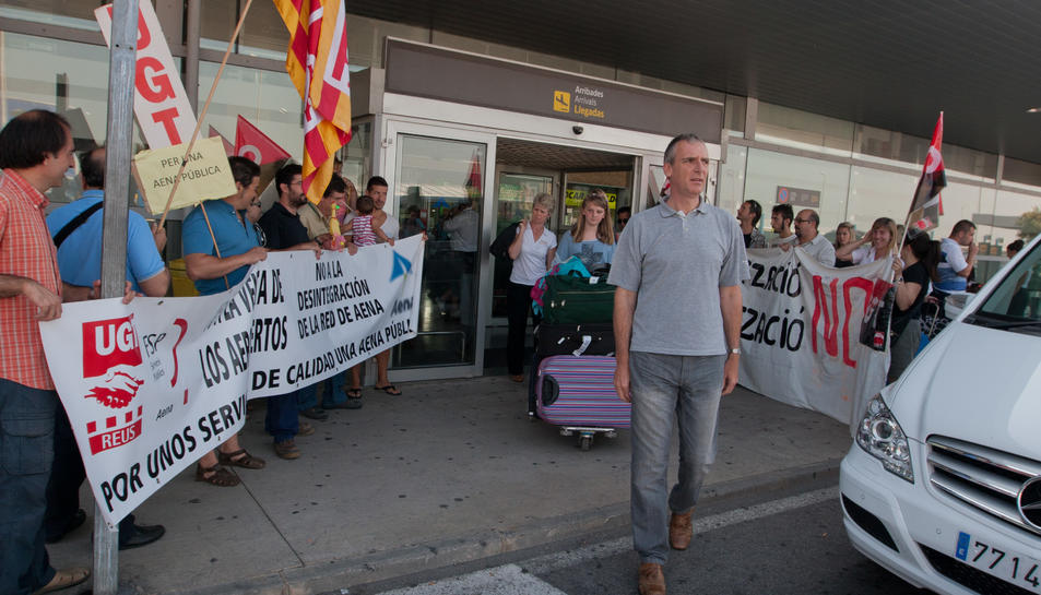 El jutge ratifica els serveis mínims de Foment a la vaga de l'Aeroport al 2013