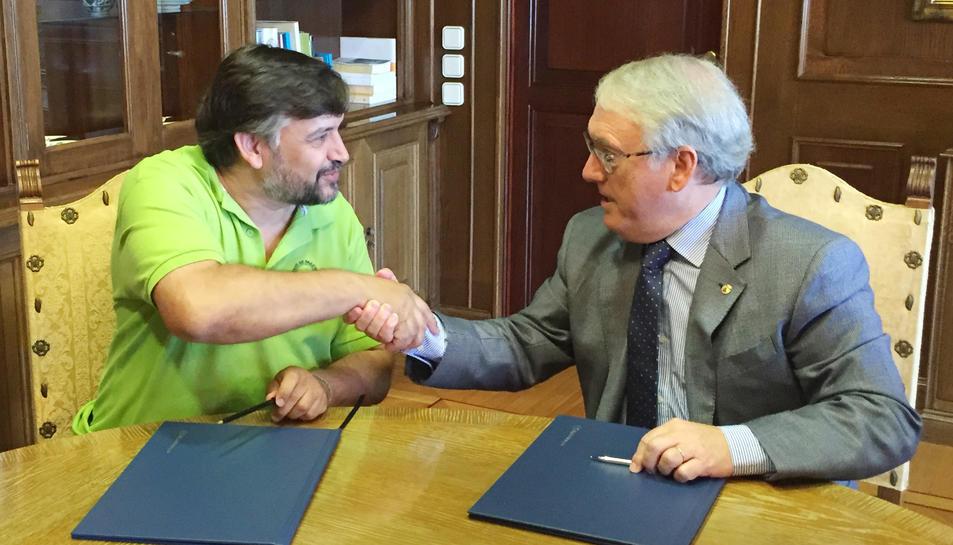 Diputació de Tarragona i Unió de Pagesos impulsen noves accions per a la gestió d'explotacions agràries i ramaderes