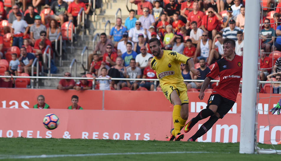 Benito: «Pensava en el debut, però ni m'havia atrevit a somiar amb fer gol»