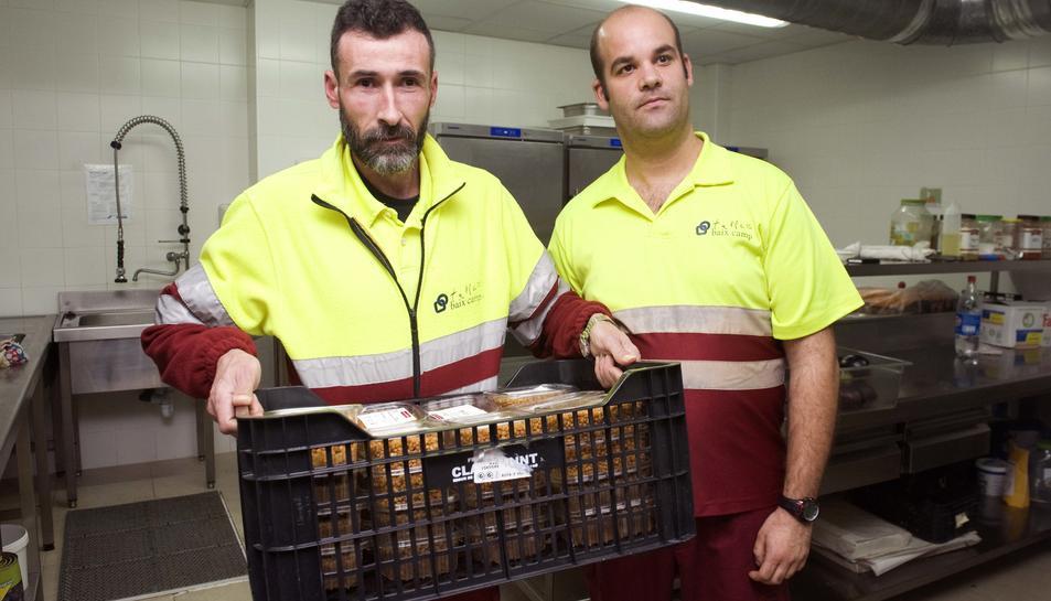 El menjador social va repartir en cinc mesos 1.142 quilos de llenties cuites