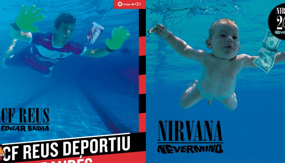 Edgar Badia es converteix en el nadó de la portada de Nevermind