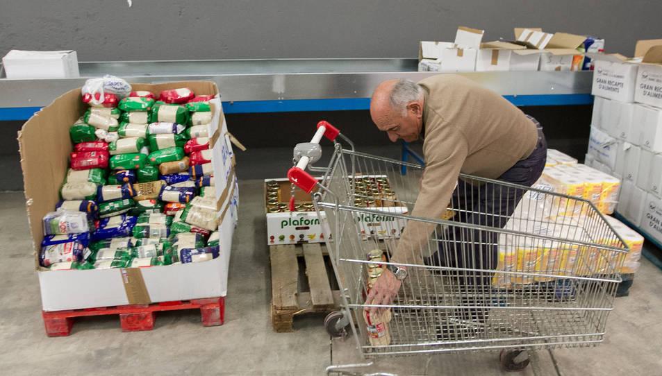 El Banc dels Aliments distribueix mig milió més de quilos que el 2014