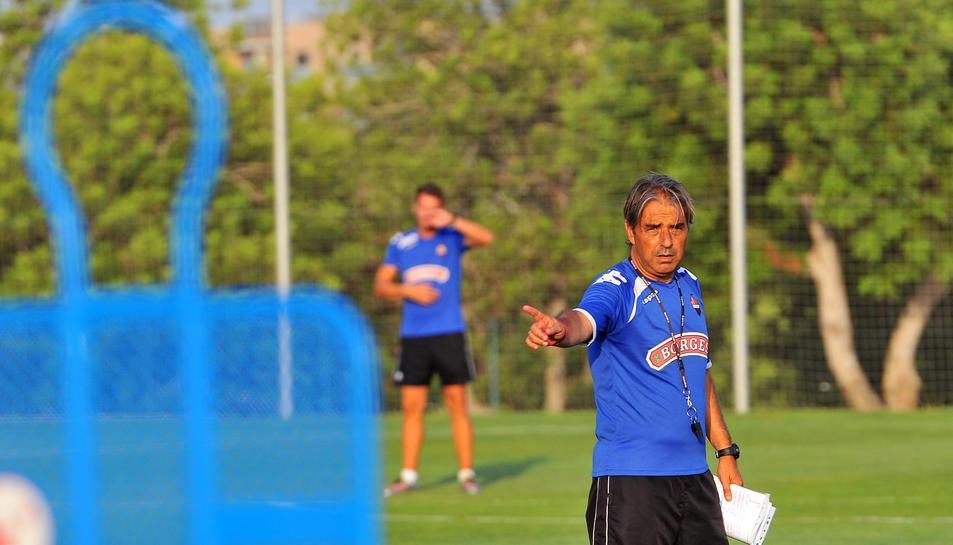 Natxo González respecta al màxim el Mirandés.