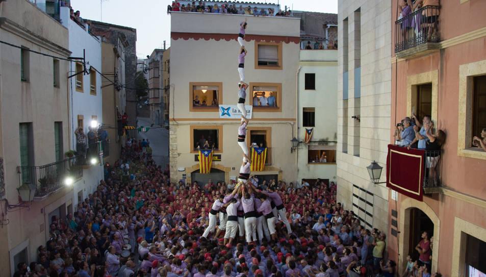 P7f de la Colla Jove de Tarragona al Catllar.