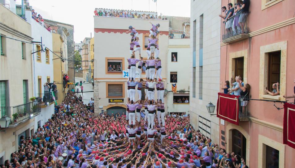 9de8 de la Colla Jove de Tarragona al Catllar.