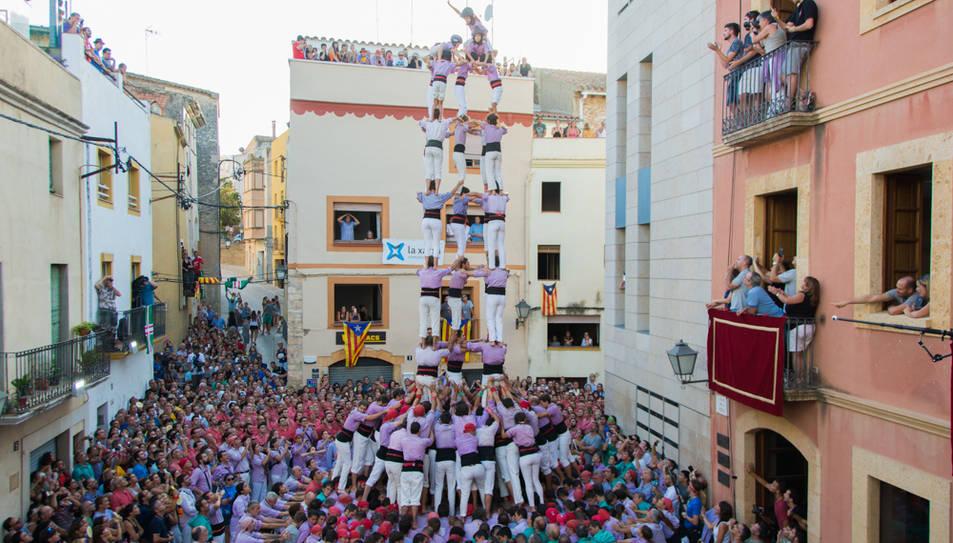 5de9f de la Colla Jove de Tarragona al Catllar.