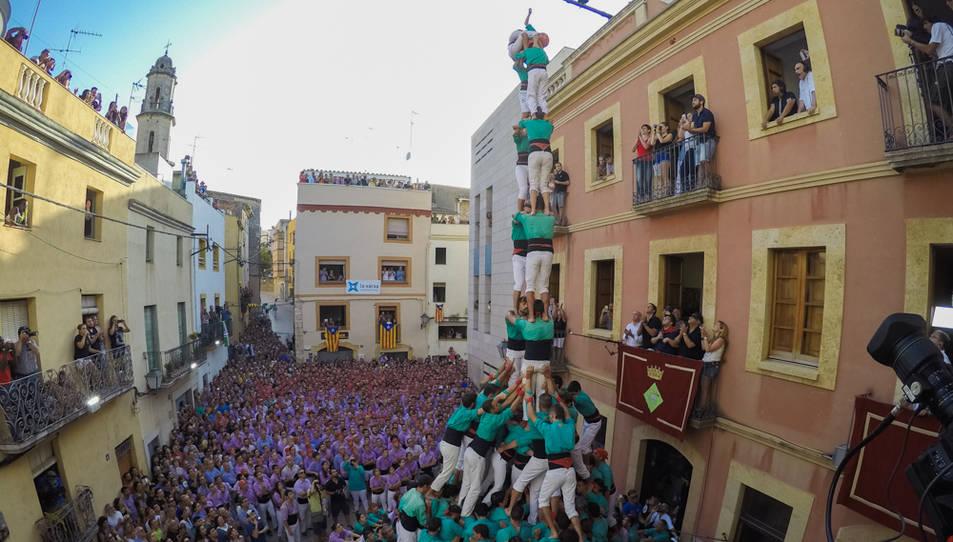 2de9fm dels Castellers de Vilafranca al Catllar.