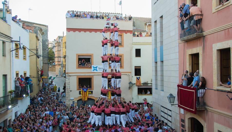 5de9f de la Colla Vella dels Xiquets de Valls al Catllar.